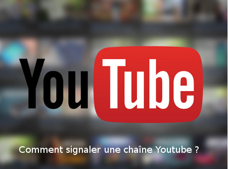 signaler compte youtube